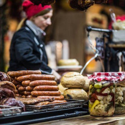 Hüttével hekkelték meg a Vörösmarty téri karácsonyi vásárt