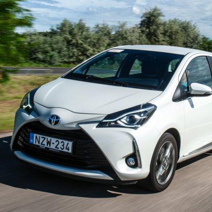 Tovább szolgál – Toyota Yaris 1.5 VVT-iE teszt