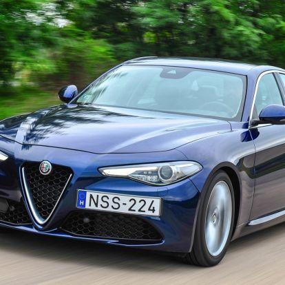 Dolce vita – Alfa Romeo Giulia 2.2 Diesel teszt