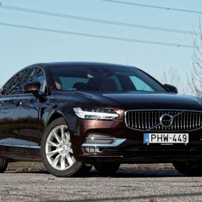 Sztereotípiák ellen – Volvo S90 T6 AWD teszt