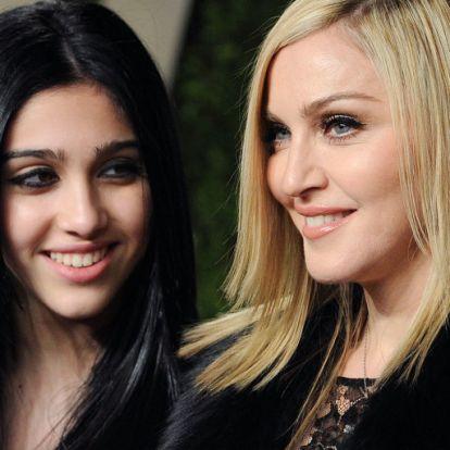 Madonna lánya hónaljszőrt villantott