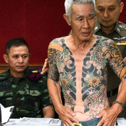 Tetoválása buktatta le a japán jakuza egy volt főnökét Thaiföldön