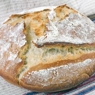 Egyszerű házi kenyér - dagasztás nélkül!