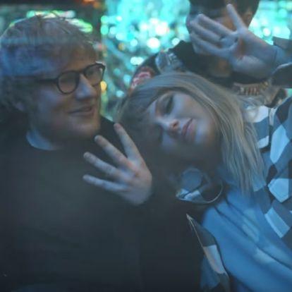 Taylor Swift Ed Sheerannel bulizza körbe a világot