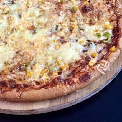 Teljes kiőrlésű pizza