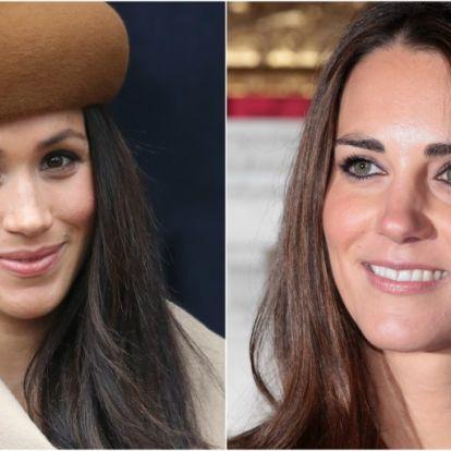 Ez a nagy különbség Katalin hercegné és Meghan Markle fotói között