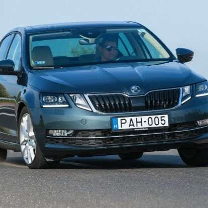 Arcoskodás – Škoda Octavia 2.0 TDI DSG teszt