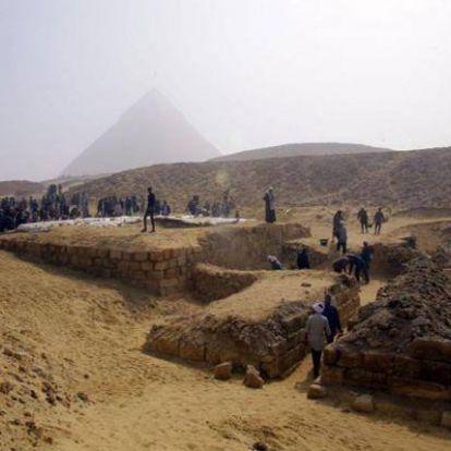 Egy magas rangú papnő 4400 éves sírját fedezték fel Egyiptomban
