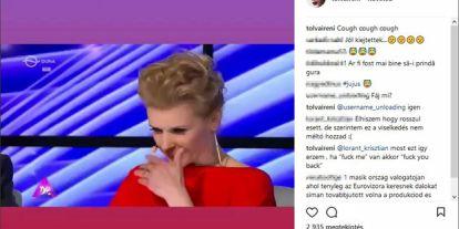 Dagad a botrány: Újabb zsűritag osztotta ki Tolvai Renit