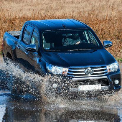 Kemény legény – Toyota Hilux 2.4 D-4D 150 teszt