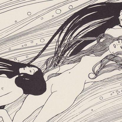 Egy titkárnő végrendelete miatt kerültek elő a lopott Klimt-rajzok