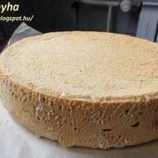 Piskóta alaprecept (tortákhoz)