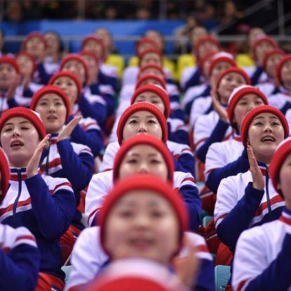 Kim Dzsongun csapdát állított a téli olimpián, és beleestek