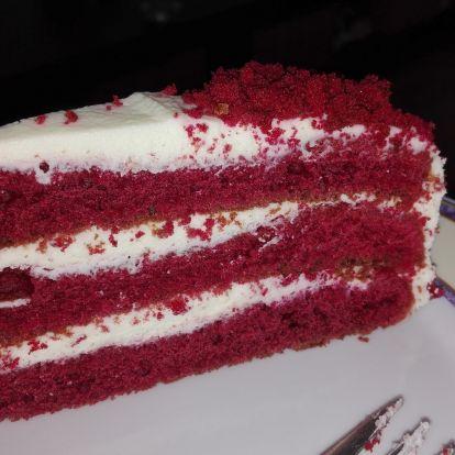 Heti recept: Vörösbársony-torta