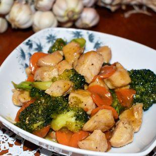 Mézes brokkolis pulykamell