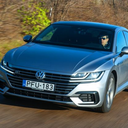 Trónörökös – Volkswagen Arteon 2.0 TDI DSG teszt
