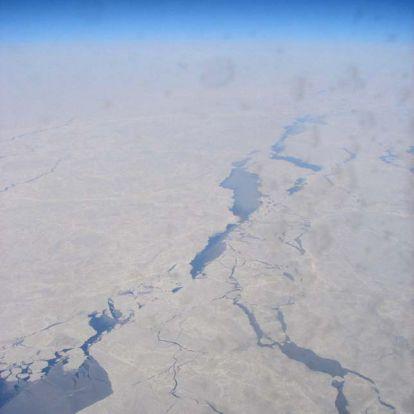 Minden idők legkisebb januári kiterjedését érte el az északi-sarki tengeri jég