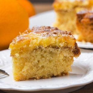 Szuperkönnyű narancsos sütemény a hétvégére