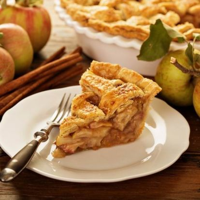 Apple pie 2018-as verzió: álomfinom karamellizált almás pite