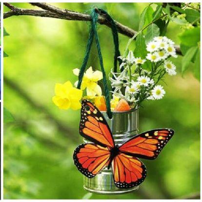 Csalogassuk be a lepkékek kertünkbe, mutatok 3 remek ötletet!