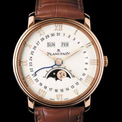 Bázeli gyors – Blancpain Villeret Quantième Complet GMT
