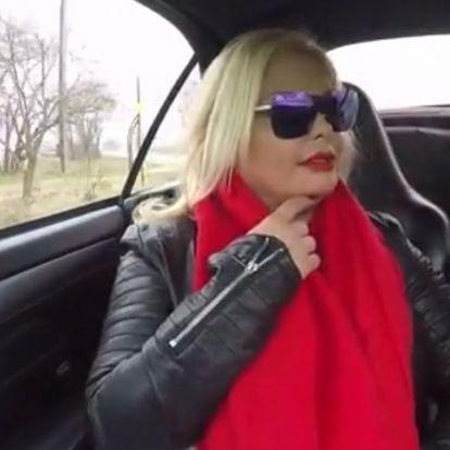 """""""Végig kéne gondolnod a saját életed"""" - egy luxusautóból oltogatta a kommentelőket Rába Tímea"""