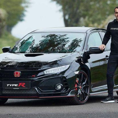 Nap hirdetése: eladó Michelisz Norbi bitang Civic Type R-je