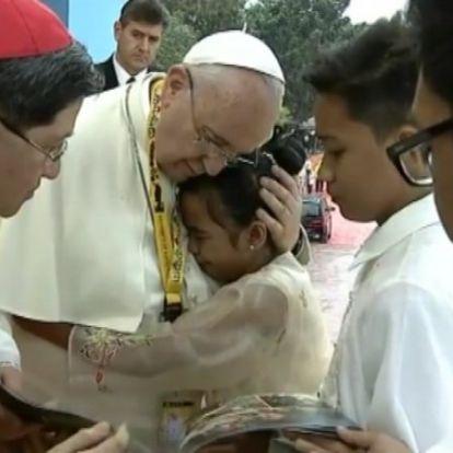 Az öt éve megválasztott Ferenc pápa öt emlékezetes pillanata