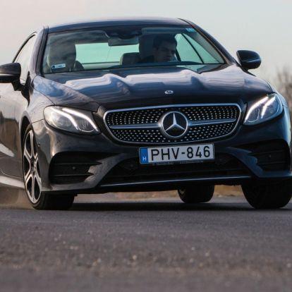 Értékadó – Mercedes-Benz E 400 4Matic Coupé teszt