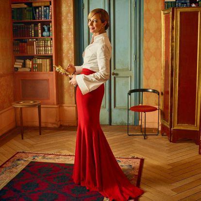 Idén különösen látványos lett a Vanity Fair Oscar-gálán készült fotósorozata