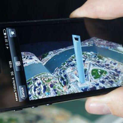 3D-s világtérkép kiterjesztett valósággal