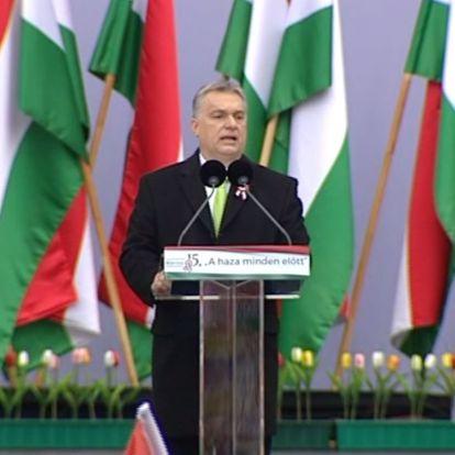 MÚOSZ: Fenyegető volt Orbán március 15-i beszéde