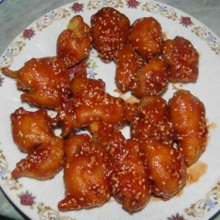 Kínai szezámmagos csirkefalatkák