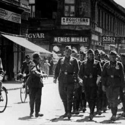 74 éve jöttek be a német csapatok hazánkba