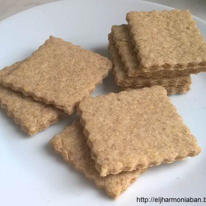 Zablisztes kréker (sós keksz)