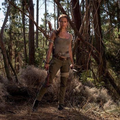 Alicia Vikander ötkilónyi izmot gyúrt magára, hogy dögös Lara Croft legyen
