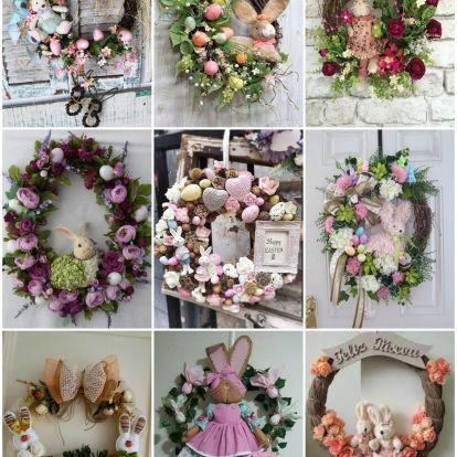 Álomszép húsvéti ajtódíszek