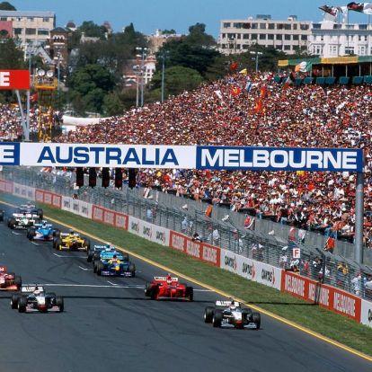 Ausztrál Nagydíj, 1998:Coulthard, a vesztő úriember