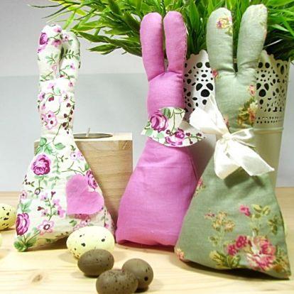 Húsvéti nyuszik textilből