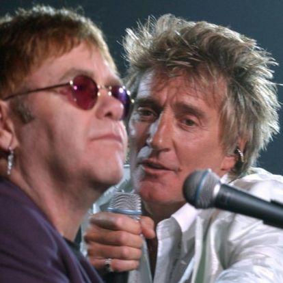 Rod Stewart nekiment Elton Johnnak a búcsúturnéja miatt