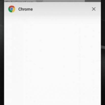 Az új androidos Chrome-ban már nem tudsz képernyőképet készíteni