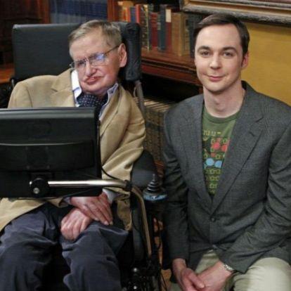 Méltóképpen búcsúzik Stephen Hawkingtól az Agymenők