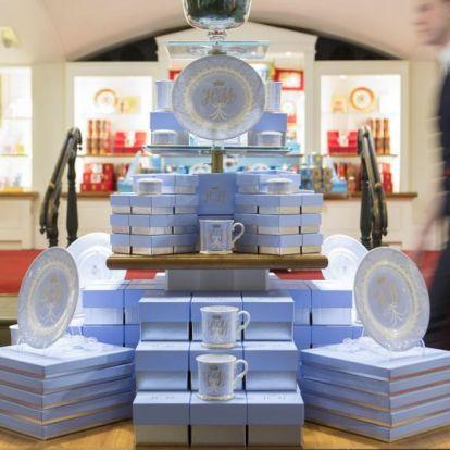 Már kapható Harry herceg és Meghan Markle esküvői porcelánkészlete
