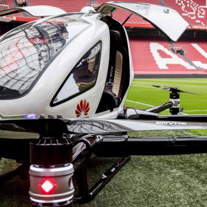 Itt van Európa első utasszállító drónja - fotó