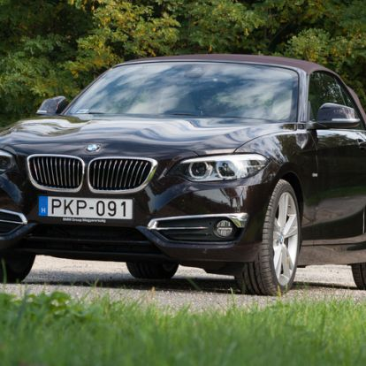 Új kedvenc BMW-m van - teszt: BMW 230i Cabrio Luxury - 2018.