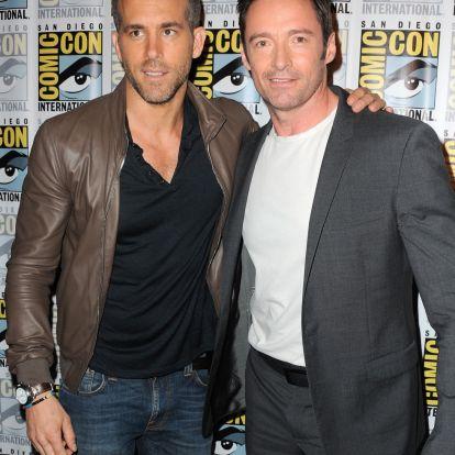 Hugh Jackman szerelmi vallomásával viccelődik Ryan Reynolds