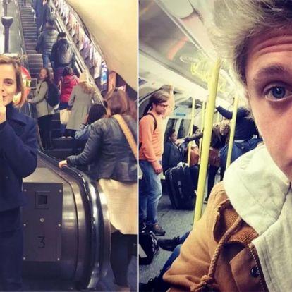 A sztárok köztünk járnak - Hírességek, akik szívesen metróznak