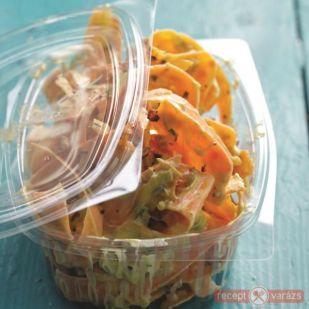 Joghurtos-currys répasaláta recept - Saláta receptek - Receptvarázs – receptek képekkel
