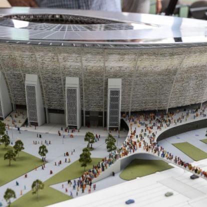 60 millióból reklámozzák, hogy épül a gigadrága Puskás Stadion