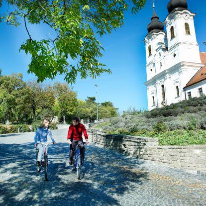 Térképen a legjobb Balaton környéki kerékpártúrák